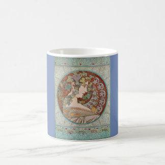 Classic French Art Nouveau Mug