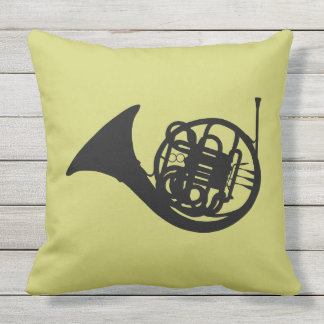 CLASSIC FRENCH HORN DESIGN OUTDOOR CUSHION