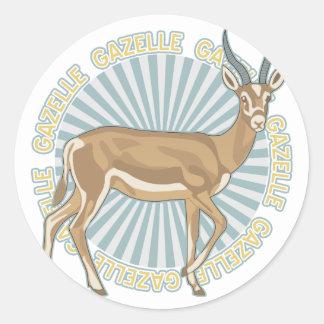 Classic Gazelle Classic Round Sticker