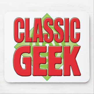 Classic Geek v2 Mouse Pads
