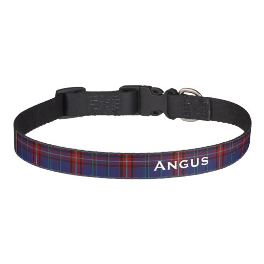 Classic Glenn Tartan Plaid Custom Dog Collar