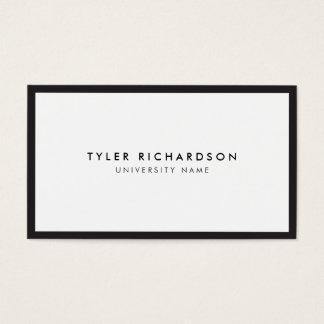 Classic Graduate Student Business Card
