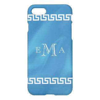 Classic Greek Key Monogram iPhone 7 Case