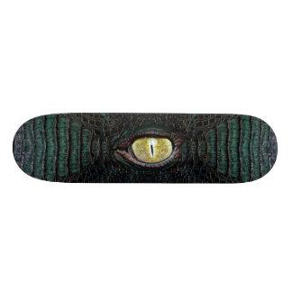 Classic Green Alligator Pro Board #2 Skate Board Deck