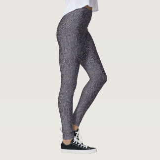 Classic Grey Houndstooth Leggings