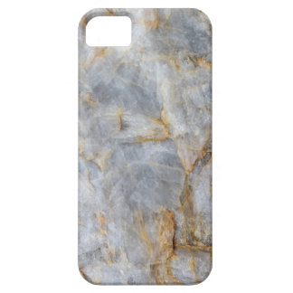 Classic Grey Quartz Crystal Barely There iPhone 5 Case