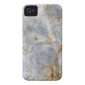 Classic Grey Quartz Crystal iPhone 4 Cases
