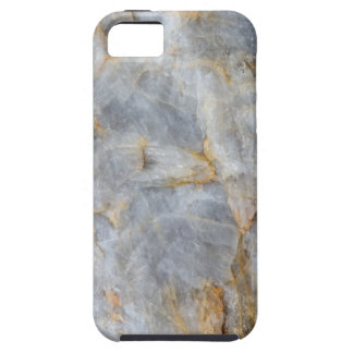 Classic Grey Quartz Crystal iPhone 5 Covers