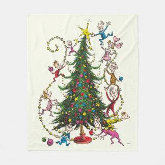 Classic Grinch | Christmas Tree Fleece Blanket