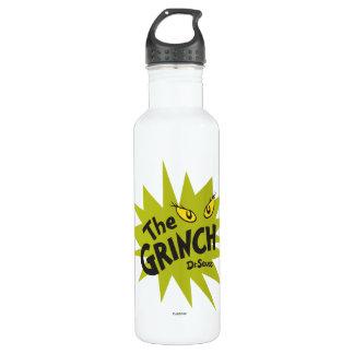 Classic Grinch   Green Starburst 710 Ml Water Bottle