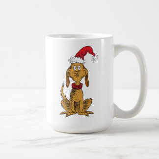 Classic Grinch | Max - Santa Hat Coffee Mug