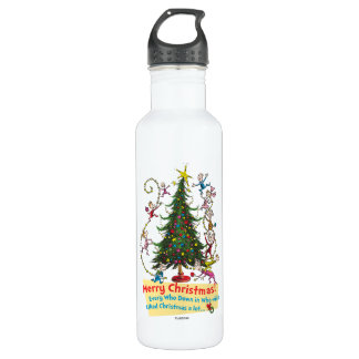 Classic Grinch | Merry Christmas! 710 Ml Water Bottle