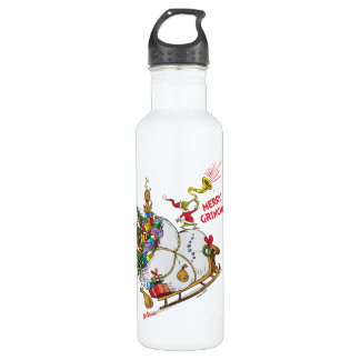 Classic Grinch   Merry Grinchmas! 710 Ml Water Bottle