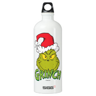 Classic Grinch | Naughty or Nice Water Bottle