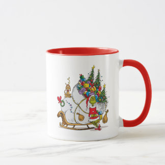 Classic Grinch | The Grinch & Max with Sleigh Mug