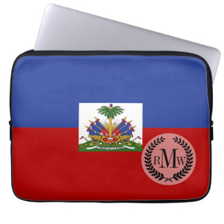 Classic Haitian Flag Laptop Sleeve