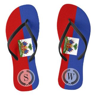 Classic Haitian Flag Thongs