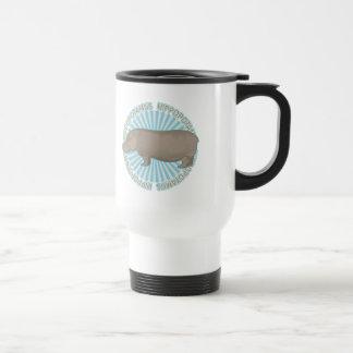 Classic Hippopotamus Travel Mug