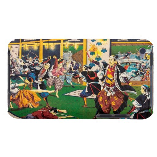 Classic historical painting Japan Bushido paragon iPod Case-Mate Case