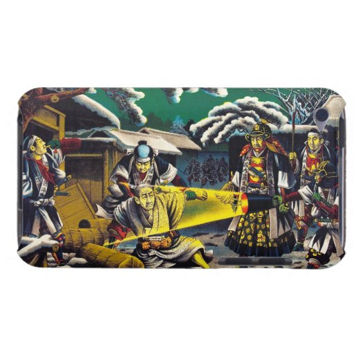 Classic historical painting Japan Bushido paragon Case-Mate iPod Touch Case