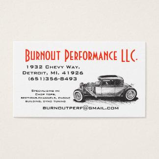 Classic Hot Rod Business Card