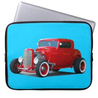 Classic Hot-Rod Car Laptop Computer Sleeve