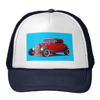Classic Hot Rod Trucker Hat