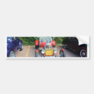 Classic Hot Rod Roadster Bumper Sticker