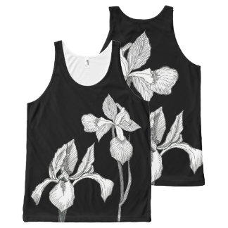 Classic Iris All-Over Print Singlet