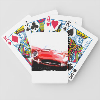 Classic Jaguar Bicycle Playing Cards