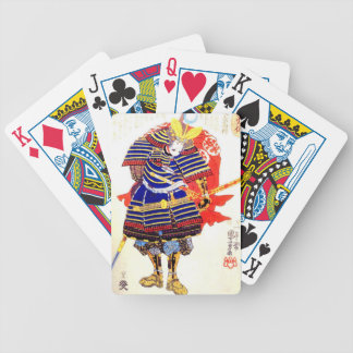 Classic Japanese Samurai Art Japan Bicycle Playing Cards