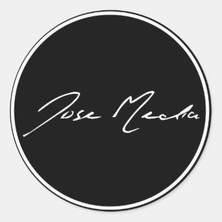 Classic Jose Media Stickers