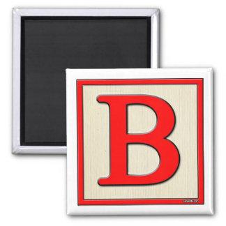 Classic Kids Letter Block B Magnets