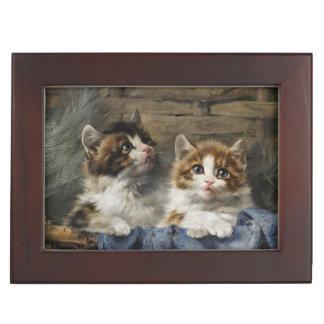 Classic Kittens Keepsake Box