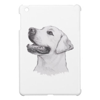 Classic Labrador Retriever Dog profile Drawing Case For The iPad Mini