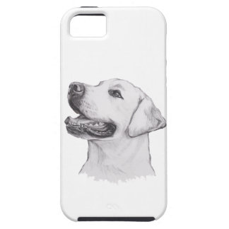 Classic Labrador Retriever Dog profile Drawing iPhone 5 Cases