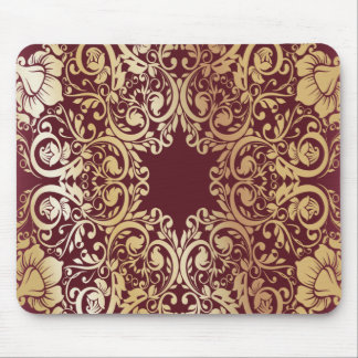 Classic luxury print. mouse pad