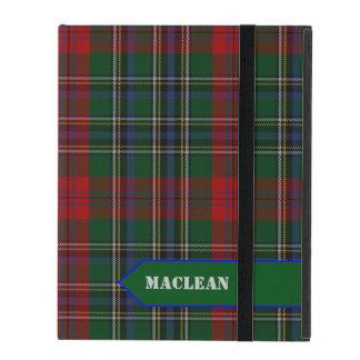 Classic MacLean Tartan Plaid iPad Case