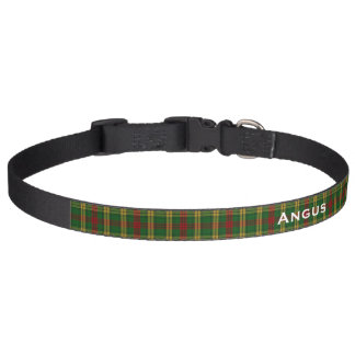 Classic MacMillan Tartan Plaid Custom Dog Collar