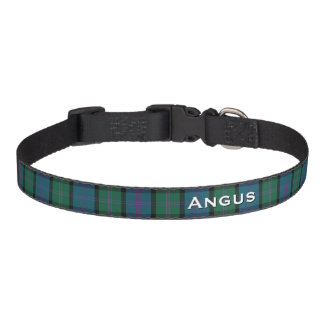 Classic MacThomas Plaid Custom Dog Collar