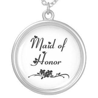 Classic Maid Of Honor Jewelry