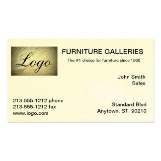 Classic Marble Logo Business Cards