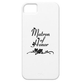 Classic Matron of Honor iPhone 5 Cover