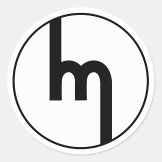 Classic Mazda emblem sticker