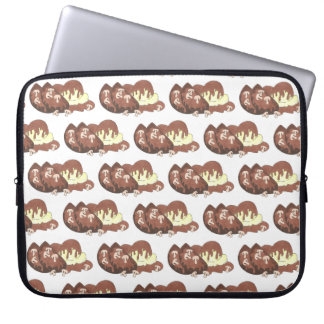 Classic Meatloaf Mashed Potatoes Gravy Diner Food Laptop Sleeve