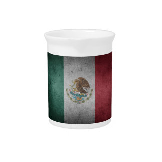 Classic Mexican Flag Pitchers