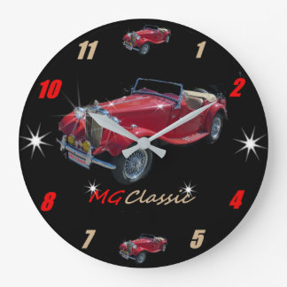 Classic MG Roadster Wallclock