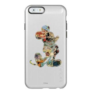 Classic Mickey   Comic Silhouette Incipio Feather® Shine iPhone 6 Case
