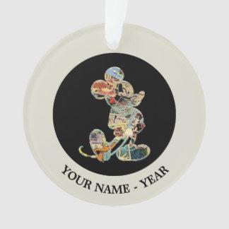 Classic Mickey   Comic Silhouette Ornament