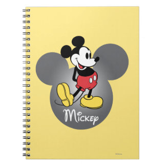 Classic Mickey | Head Icon Notebook